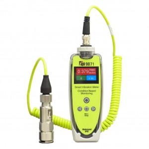サトテック 診断機能つき振動計TPI-9071(FFT分析機能つき)