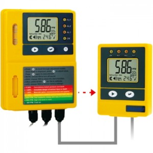 サトテック CO2設置型警報器MJ-CO2-5P(炭酸ガス警報器)