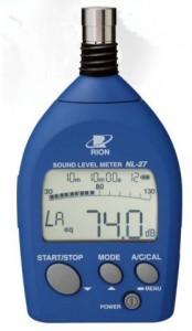 リオン(RION) 普通騒音計 NL-27 新型式承認 TS162号