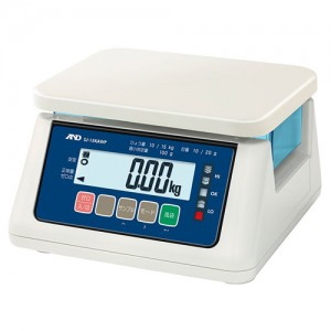 A&D 検定付き防塵防水デジタルはかり SJ-AWP / SJ-AWP-BT(ワイヤレス通信モデル) シリーズ