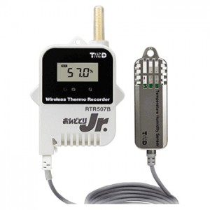 T&D 温度・湿度ワイヤレスデータロガーRTR507B/RTR507BL (高精度広範囲) おんどとりJr.