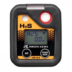 理研計器 ポータブル硫化水素ガスモニター HS-04