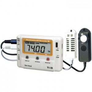 T&DおんどとりTR-74Ui/74Ui-S照度・紫外線・温度・湿度計データロガー