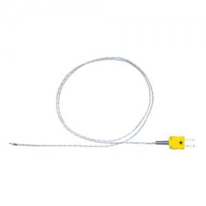 先端溶接K熱電対 高耐熱セラミック被覆 TJK-CN32Aシリーズ  直径0.32mm (国産)