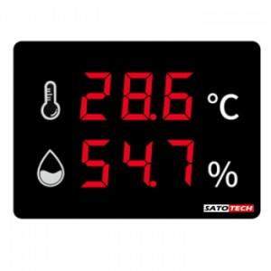 サトテック 温度 湿度 表示器HJ-TH75