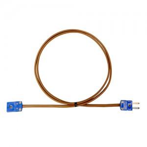 T熱電対補償導線延長ケーブル (ミニプラグオス-ミニプラグメス)