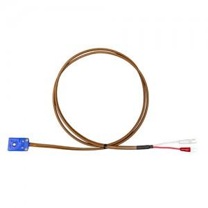 T熱電対補償導線延長ケーブル (Y端子-ミニプラグメス)