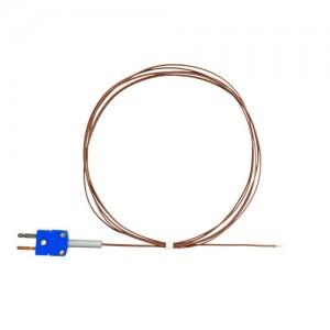 防水/耐薬品フッ素樹脂先端モールドT熱電対温度センサ
