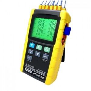 サトテック 12chデータロガー温度計BTM-4208SD