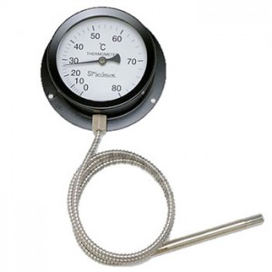 業務用浴槽用風呂温度計VP-100(隔測温度計)