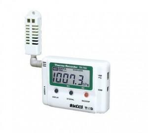 T&DおんどとりTR-73U温度・湿度・大気圧計データロガー