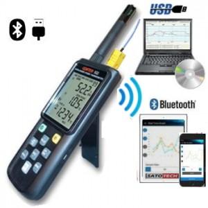 サトテック データロガー温湿度計CENTER522 Bluetooth対応