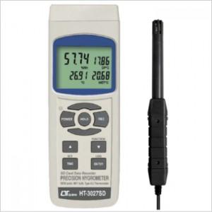 サトテック データロガー温湿度・露点計 HT-3027SD