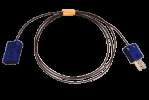 T熱電対延長ケーブル MTF-EN 1m/ 5m/ 10m (Tタイプ温度センサー延長ケーブル)