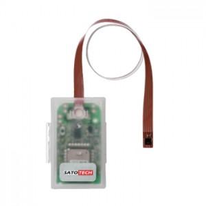 サトテック ワイヤレス温湿度データロガーミニログDL-RHC(Bluetooth/iOS対応)外付けテープシートセンサ