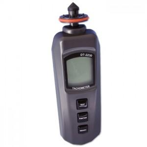 サトテック デジタル回転計タコメーターDT-2230[非接触+接触]