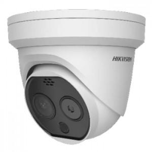 ドーム型AIサーマルカメラ DS-2TD1217B-6/PA【日本正規代理店】(新型コロナウイルス感染対策 AI顔認識/アラート通知)ハイクビジョン