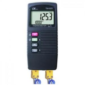 サトテック 2チャンネル温度計TM-925