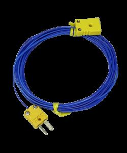 K熱電対延長ケーブル1m/5m/10m/20m (K熱電対中継ケーブル/フッ素樹脂被覆)