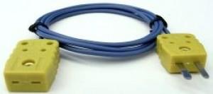 K熱電対延長ケーブル1m/5m/10m/20m (K熱電対中継ケーブル)