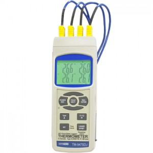 サトテック 4chデータロガ温度計TM-947SD J