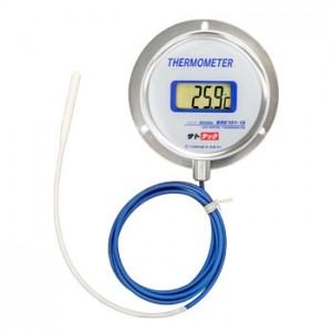 浴場風呂用密閉型デジタル温度計 BRE101G-WRN