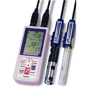 東亜DKKポータブル溶存酸素・pH計 DM-32P