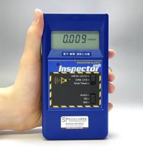 放射線測定器インスペクターInspectorUSB