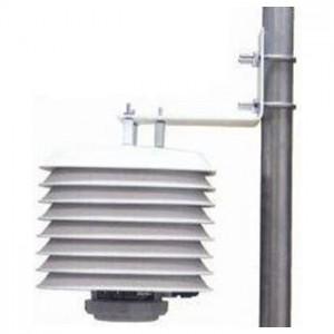 自然通風シェルターつき温湿度計トランスミッターTRH-3203(温湿度測定装置)