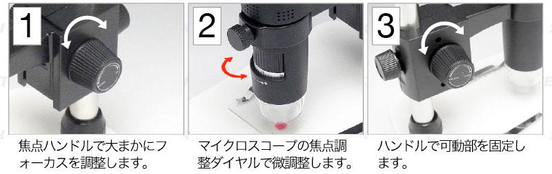 出力付マイクロスコープ顕微鏡MJ-ICT16